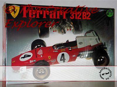 Ferrari 312B2 1/12 Protar restauration