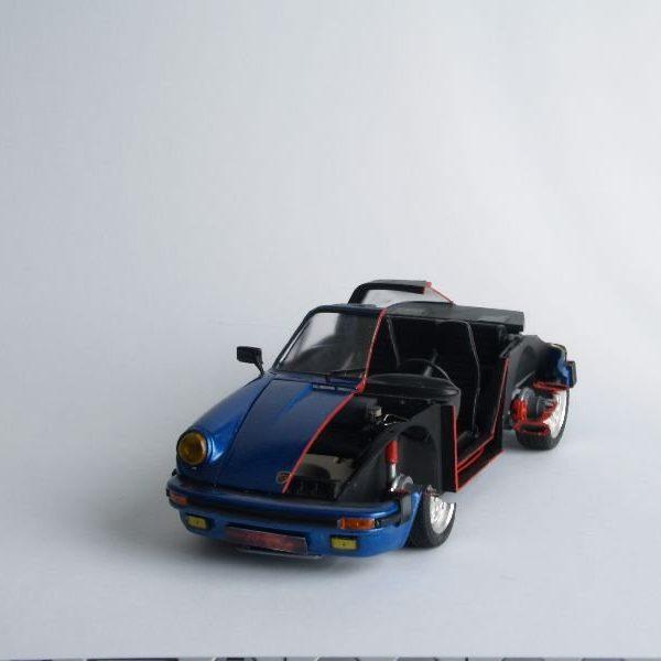 Porsche 911 Targa Cutaway