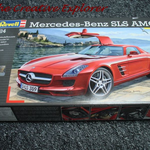 Mercedes SLS AMG work in progress