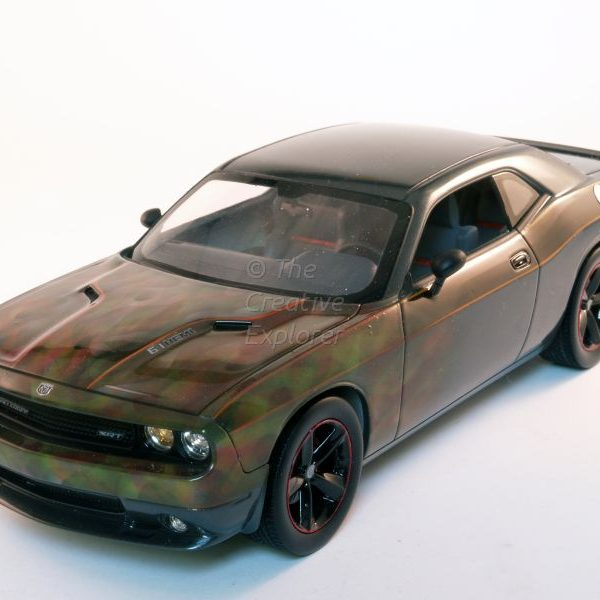 2009 Dodge Challenger 'True-Flames'