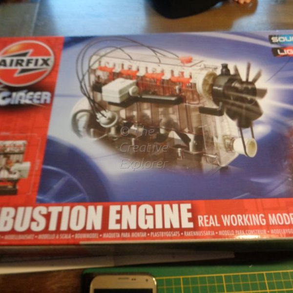 Back to basics; Airfix internal combustion engine