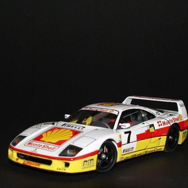 Ferrari F40 Competizione Monte Shell