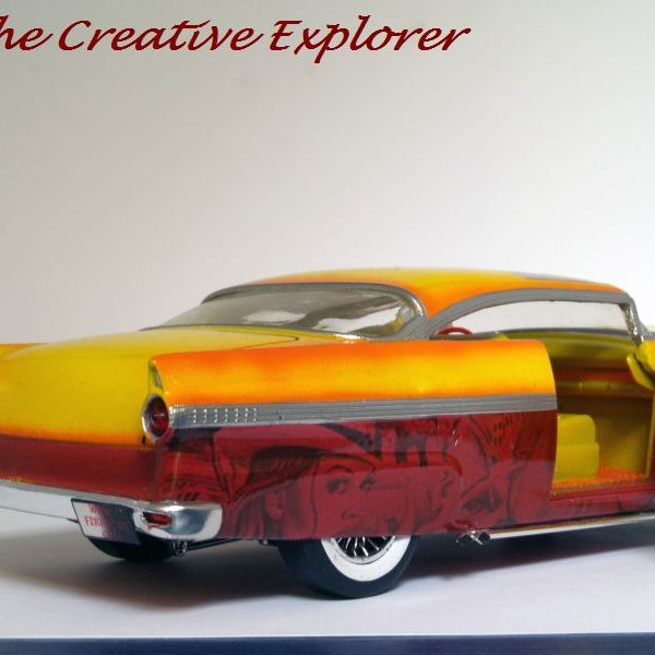 1956 Ford Victoria, leadsled/mexican/custom-blend