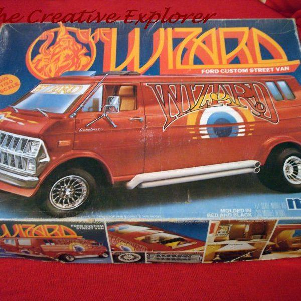 Seventies Ford Econoline 'Wizard' van