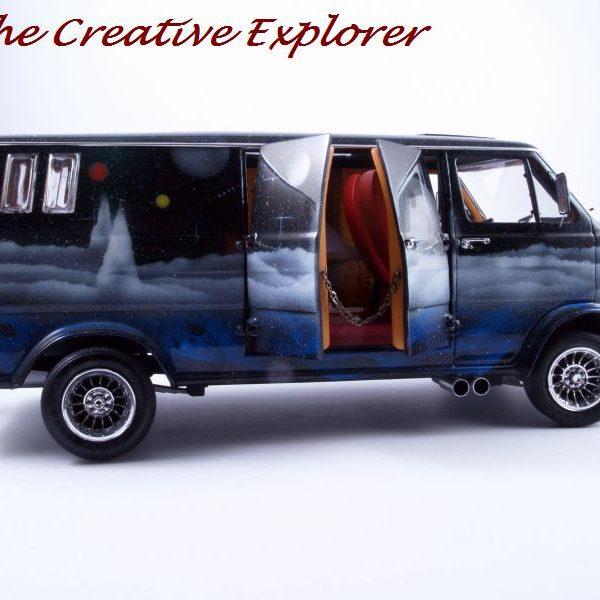 Seventies Ford Econoline 'Wizard' van Gallery