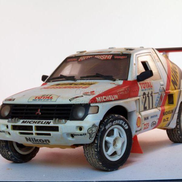 Mitsubishi Pajero 1993 Paris-Le Cap winner